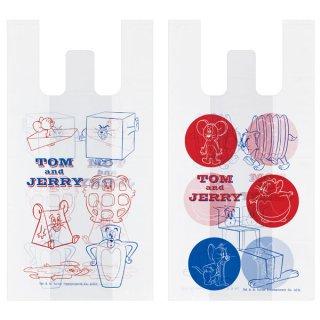 持ち手付ポリ袋M(2柄×5枚入) トム&ジェリー トムとジェリー/RGBH2_546631