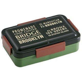 抗菌パッキン一体型4点ロックふわっと弁当箱 容量850ml ブルックリン/PALT9AG_521614