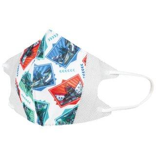 子ども用 不織布立体マスク 10枚入 新幹線変形ロボ シンカリオンZ/MSKS3_550041