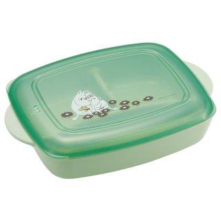 食洗機対応 おうちで食べるお弁当箱(M) 640ml MOOMIN/ムーミン くすみカラー/LHM1_549311
