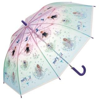 【同梱不可・送料770円】子ども用ビニール傘(55cm) アナと雪の女王2/UBV3_557392