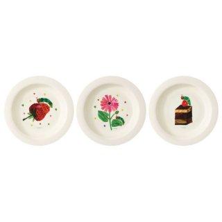 プラスチック 小皿 3枚セット(15cm) はらぺこあおむし/P4_552489