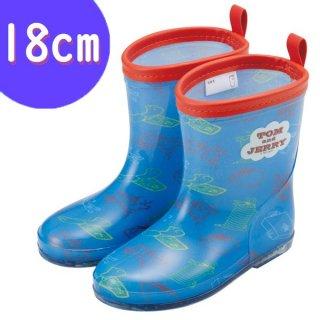キッズレインブーツ(長靴) 18cm トム&ジェリー/RIBT3N_547119