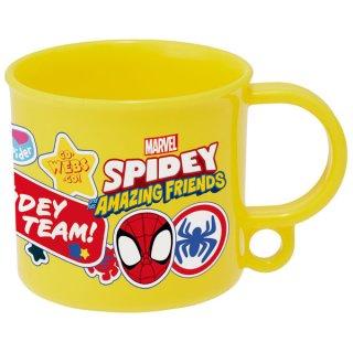 抗菌食洗機対応プラコップ 200ml SPIDEY スパイディ/スパイダーマン&アメイジング・フレンズ/KE5AAG_567957