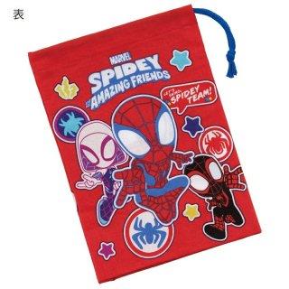 歯ブラシホルダー付 コップ袋 SPIDEY スパイディ/スパイダーマン&アメイジング・フレンズ/KB62_569074