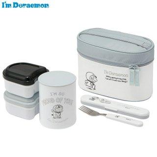 抗菌保温ジャー付きランチボックス 総容量560ml I'm Doraemon(アイム ドラえもん)/KCLJC6AG_549472