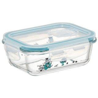 耐熱ガラス製保存容器 370ml ムーミン キッチン/GBST4_545863