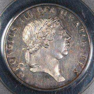 イギリス Great Britain ジョージ3世 イングランド銀行 バンクトークン 1シリング6ペンス(18ペンス)銀貨 1812年 PCGS PR58