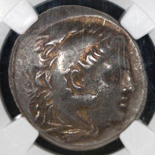 古代ギリシャ トラキア オデッサス アレクサンドロス3世 テトラドラクマ銀貨 紀元前280〜200年 NGC XF