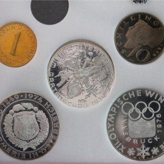 オーストリア インスブルックオリンピック プルーフセット12種揃 1974年