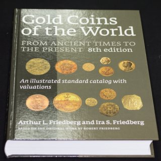 世界の金貨 Gold Coins of the World 第8版 フリードバーグ著
