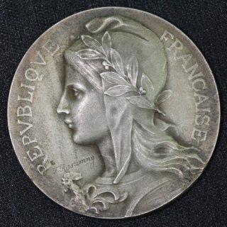 フランス マリアンヌ 銀メダル Marianne Medal