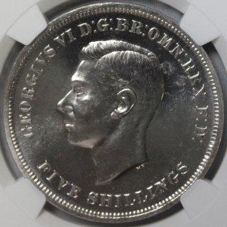 イギリス Great Britain ジョージ6世 英国祭 クラウン白銅貨 1951年 NGC PL64