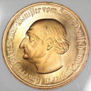 ドイツ Germany ヴェストファーレン Westphalia 1万マルク ハイパーインフレーション貨 ノートゲルト 1923年 NGC MS66