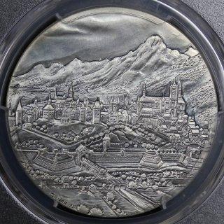 スイス Switzerland スイス連邦 ジュネーブ Specimen 銀メダル PCGS  SP66