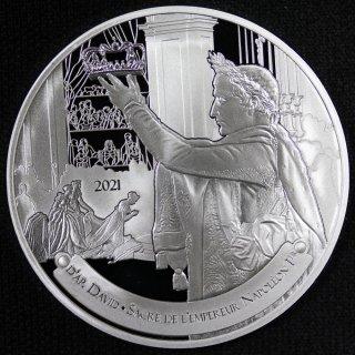 フランス France ナポレオン ボナパルト没後200年 戴冠式 10ユーロ銀貨 2021年