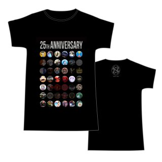 25th Anniversary T-Shirts<img class='new_mark_img2' src='https://img.shop-pro.jp/img/new/icons50.gif' style='border:none;display:inline;margin:0px;padding:0px;width:auto;' />