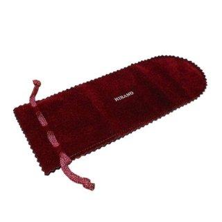 ブラシケース小 赤フクロ 洋服ブラシ携帯用にピッタリ!