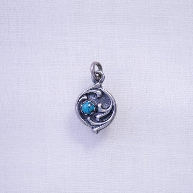 Circle Arabesque Top Turquoise