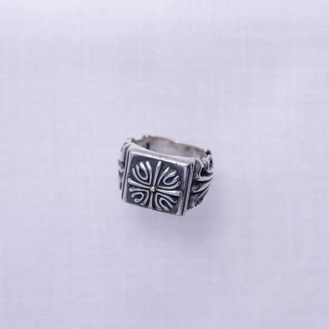Floral Square Ring