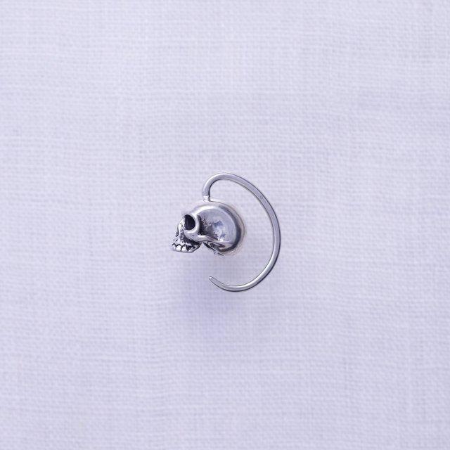 Skull Droop Pierced Earing L