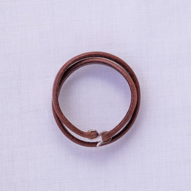 Leather Bracelet 13 ( Natural )