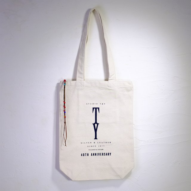 40th Anniv. Tote bag with Beads