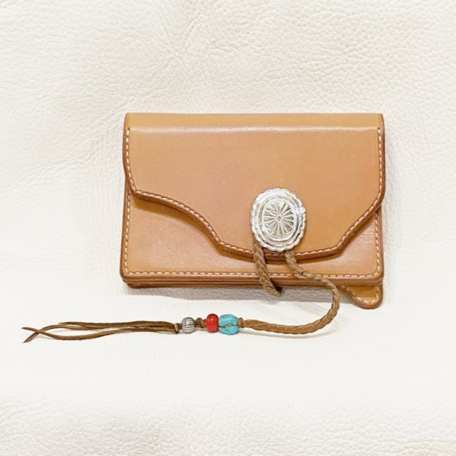 Middle Wallet  2 ( Natural )-C095