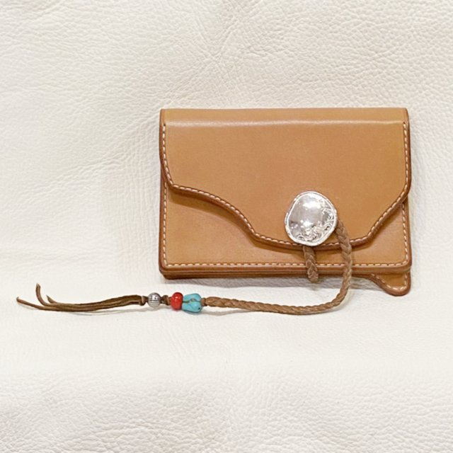 Middle Wallet  2 ( Natural )-C209
