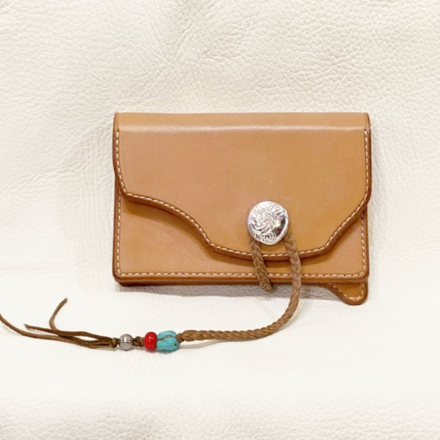 Middle Wallet  2 ( Natural )-C427