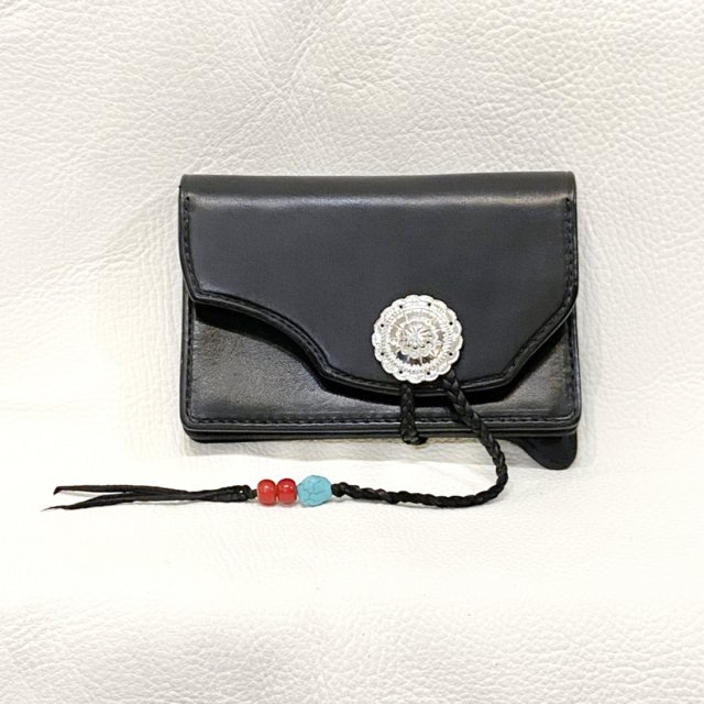 Middle Wallet  2 ( Black )-C086