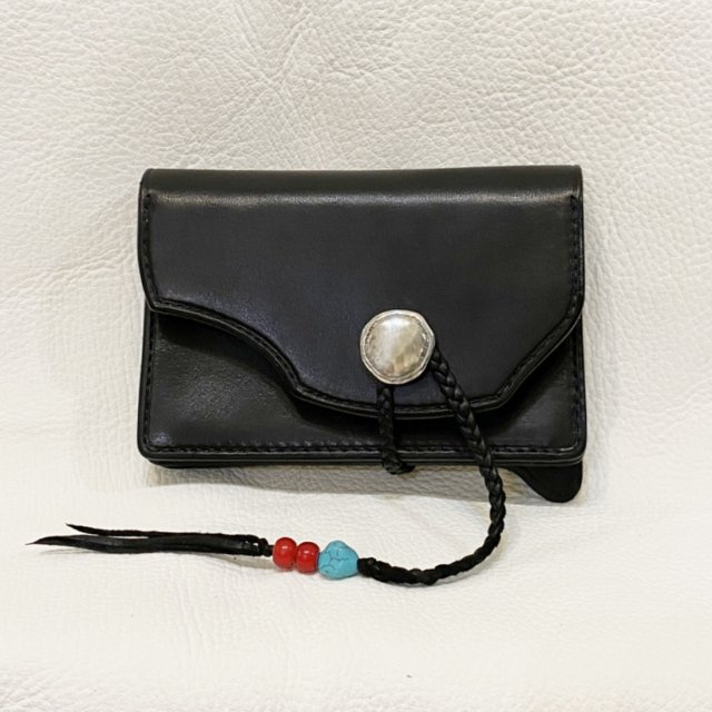 Middle Wallet  2 ( Black )-C429
