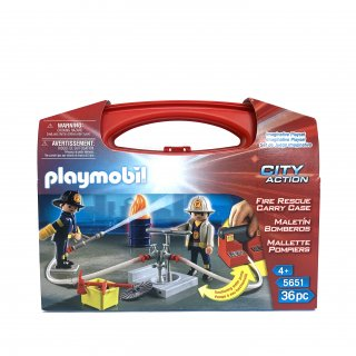 【playmobil】Fire Rescue Carry Case