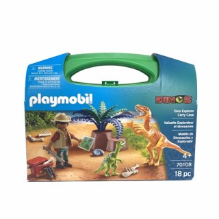 【playmobil】Dino Explorer Carry Case