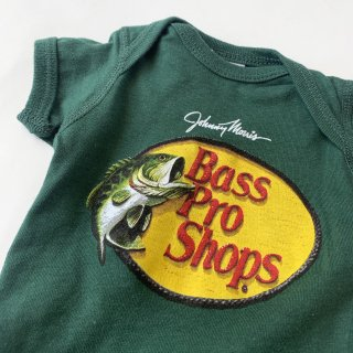 【Bass Pro Shops】Logo Baby Rompers/Deep Green