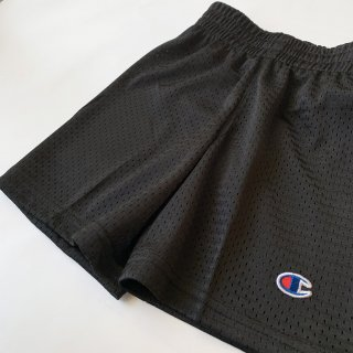 【Champion】Heritage Mesh Shorts/Black