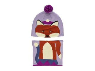 【Columbia】Snow More Beanie and Gaiter Set/Violet Fox
