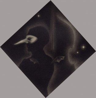 小池結衣 銅版画 『小悪魔/El Duende』