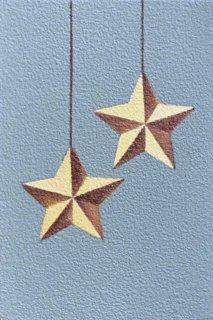 豊田 泰弘 油彩画『星のオーナメント』