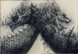 西村 沙由里 銅版画「心緒の相」*シート