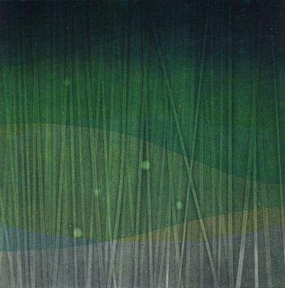 佐藤 賀奈子 銅版画「recollect -rain-」サイン入り