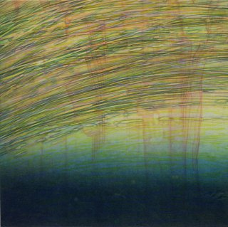 佐藤 賀奈子 銅版画「twilight -stillness-」サイン入り