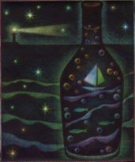 小池結衣 銅版画『夏』*シート