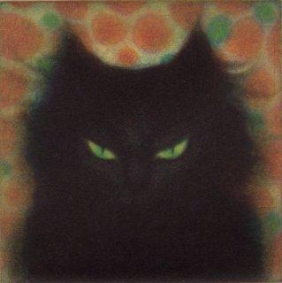 小池結衣 銅版画『Gato Negro』*シート