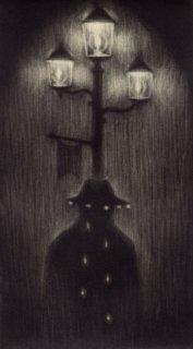 小池結衣 銅版画『雨滴』*シート