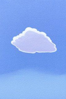 豊田 泰弘 油彩画『雲』