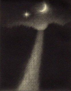 小池結衣 銅版画『坂道』*シート