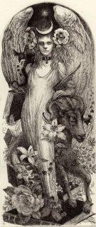 林 由紀子 銅版画(モノクロ)「アスタルテの司書」(シート)