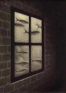 小池結衣 銅版画『窓�』*シート