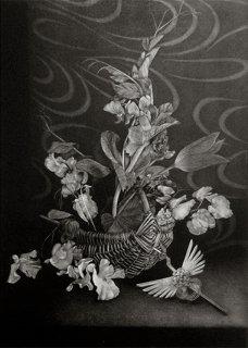 庄 漫 銅版画「春のメッセージ」*シート